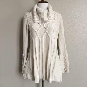 Style & Co Oversized Flowy Sweater Turtleneck